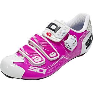 Sidi Alba Shoes Women Fuxia/White bei fahrrad.de Online