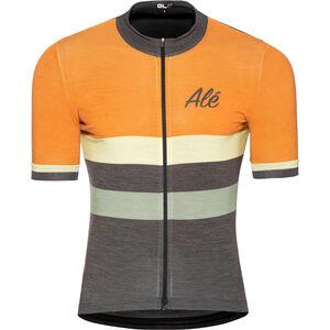 Alé Cycling Classic Vintage SS Jersey Herren orange orange