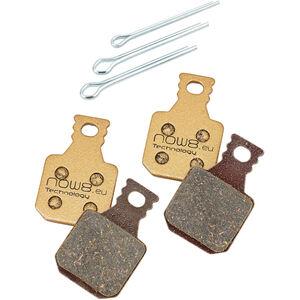 NOW8 E-Bike Gold Disc Brake Pads CC3Xplus for Magura MT 5/7 gold gold