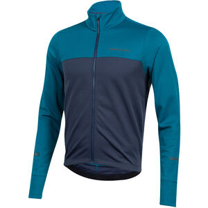 PEARL iZUMi Quest Thermo Langarm Jersey Herren teal/navy teal/navy
