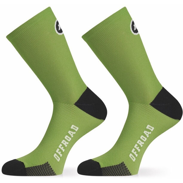 assos XC Socks pan green