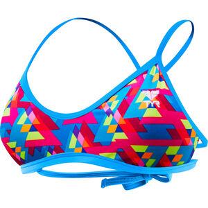 TYR Le Reve Mojave Tieback Bikini Top Women pink/turquoise