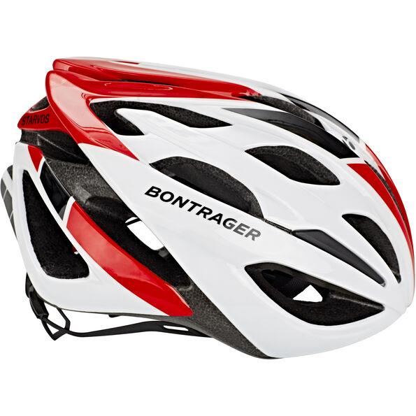 Bontrager Starvos Helmet red/whtie