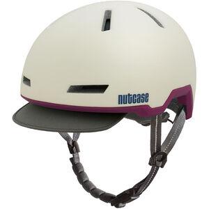Nutcase Tracer Helmet shell white matte shell white matte