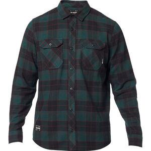 Fox Traildust 2.0 Flannel Langarmshirt Herren emerald emerald