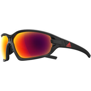 adidas Evil Eye Evo Basic Glasses L black matt/red black matt/red