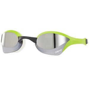 arena Cobra Ultra Mirror Goggles silver-green-white bei fahrrad.de Online