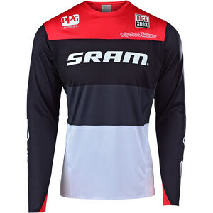 Troy Lee Designs Sprint Elite LS Jersey Herren sram beta/black/red sram beta/black/red