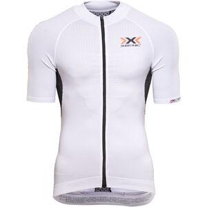 X-Bionic The Trick Biking Shirt SS Full Zip Men White/Black bei fahrrad.de Online