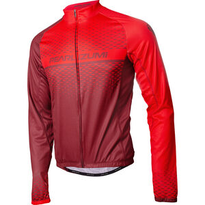 PEARL iZUMi Elite LTD Thermo Langarm Jersey Herren russet/torch red russet/torch red