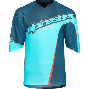Alpinestars Crest 3/4 Jersey Herren poseidon blue/atoll blue poseidon blue/atoll blue