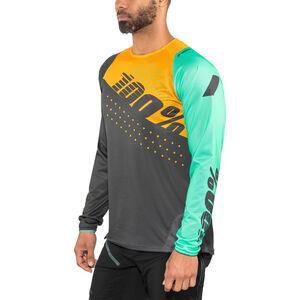 100% R-Core DH Jersey Men Charcoal