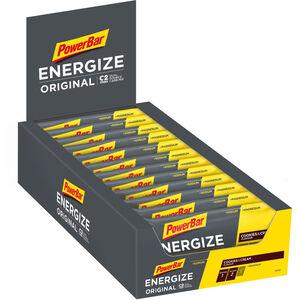 PowerBar Energize Original Riegel Box 25x55g Cookies & Cream