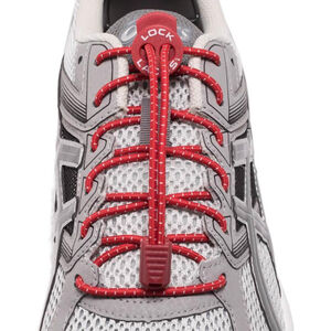 Lock Laces Run Laces red red