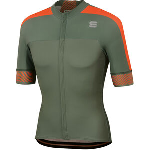 Sportful Bodyfit Pro 2.0 Classics Jersey Herren dry green/orange sdr dry green/orange sdr