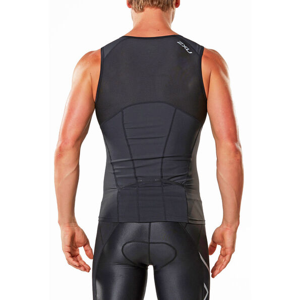 2XU Active Tri Top Herren black/black