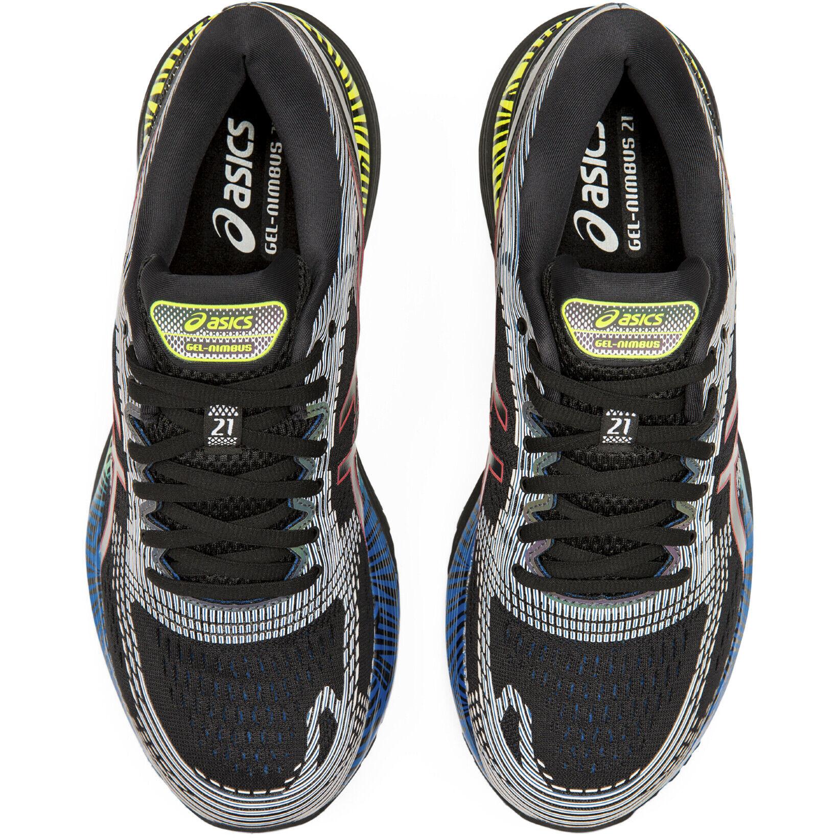 asics Gel Nimbus 21 Lite Show Schuhe Herren blackelectric blue