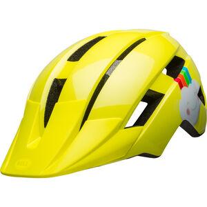 Bell Sidetrack II Helm Kleinkind yellow rainbow yellow rainbow