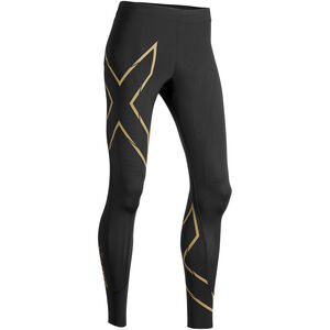 2XU MCS Run Compression Tights Damen black/gold reflective black/gold reflective