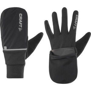 Craft Hybrid Weather Gloves black black