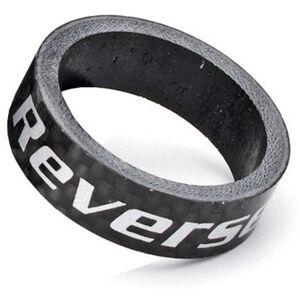 """Reverse Carbon Spacer 10mm, 1 1/8"""" schwarz schwarz"""