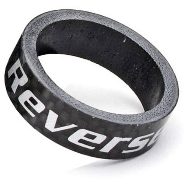 """Reverse Carbon Spacer 10mm, 1 1/8"""" schwarz"""
