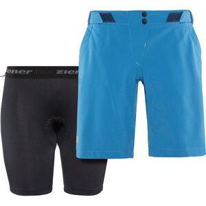 Ziener Ceita X-Function Shorts Damen wash blue wash blue
