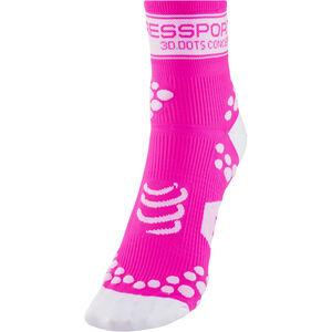 Compressport Racing V2 Socks fluo pink fluo pink