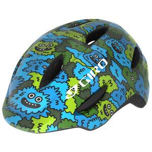 Giro Scamp MIPS Helmet Kinder blue/green creature camo blue/green creature camo