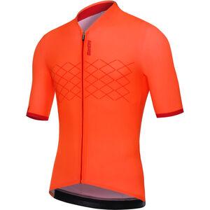 Santini Redux Jersey SS Herren arancio fluo arancio fluo