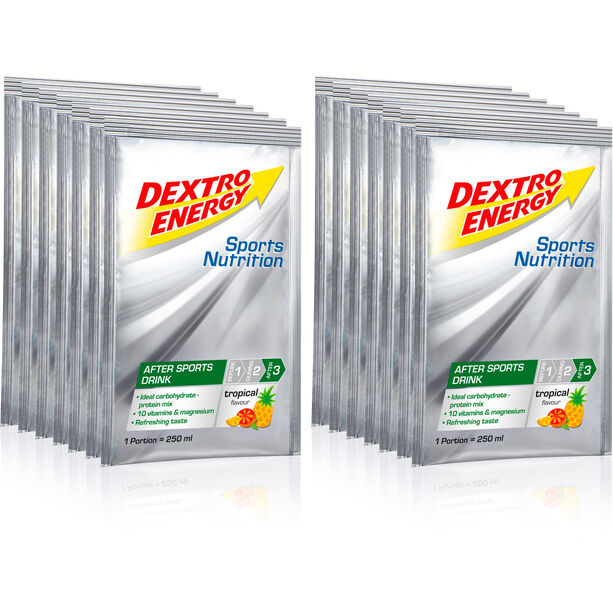 Dextro Energy After Sports Drink Box 14x44,5g Tropic