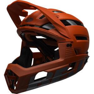 Bell Super Air R MIPS Helm matte/gloss red/gray matte/gloss red/gray