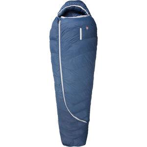Grüezi-Bag Biopod DownWool Ice 185 Sleeping Bag Men Night Blue bei fahrrad.de Online