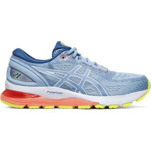 asics Gel-Nimbus 21 Shoes Damen heritage blue/lake drive heritage blue/lake drive