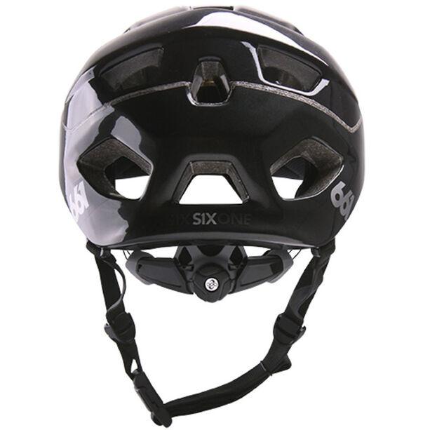 SixSixOne EVO AM Helm metallic black metallic black
