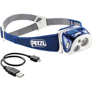 Petzl Reactik Stirnlampe blau blau
