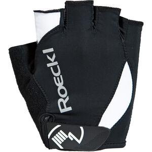 Roeckl Baku Handschuhe schwarz/weiß schwarz/weiß