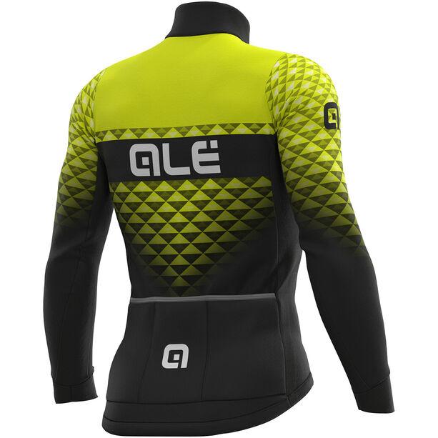 Alé Cycling PR-S Hexa DWR Jersey Herren black-fluo yellow