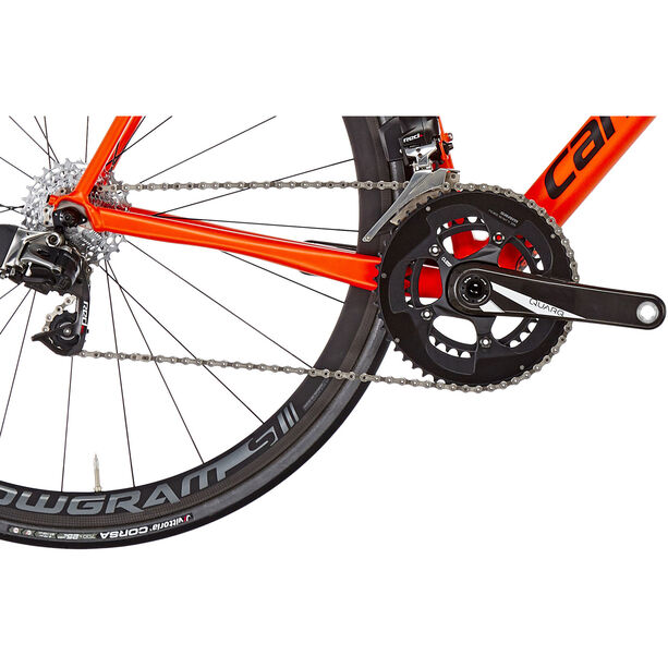 Cannondale CAAD12 Red eTap orange