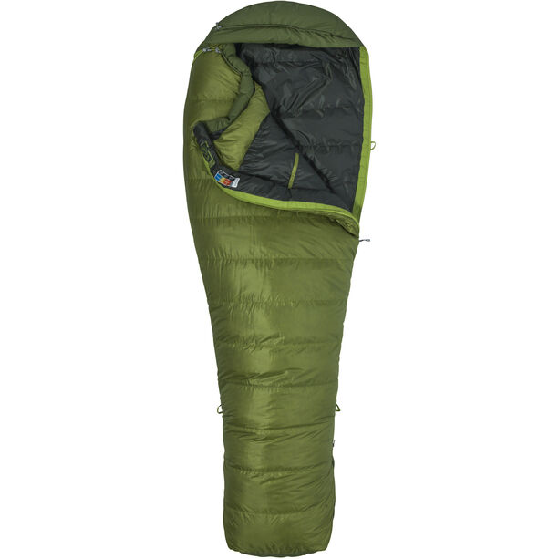 Marmot Never Winter Sleeping Bag regular cilantro/tree green