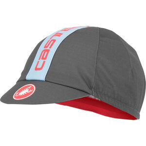 Castelli Retro 3 Cap dark gray/dusk blue dark gray/dusk blue