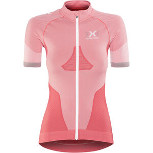 X-Bionic Race EVO Biking Shirt SS Women Pink Paradise/Pearl Grey bei fahrrad.de Online