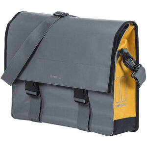 Basil Urban Load Schultertasche 15-17l stormy grey/gold