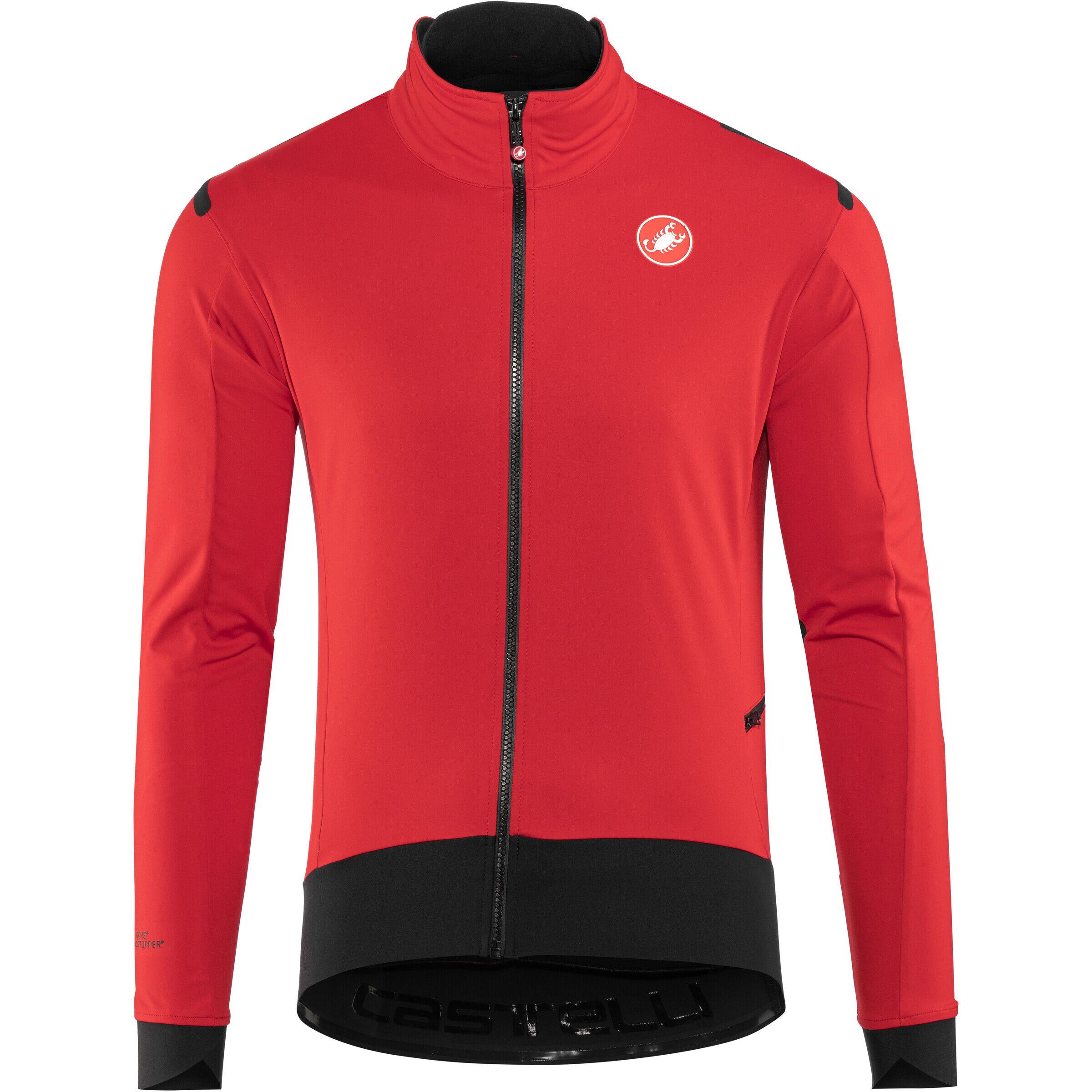 Castelli Alpha Ros Light Jacket Herren redblack