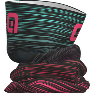 Alé Cycling The End Tubular Headgear black-multicolor-fluo pink black-multicolor-fluo pink
