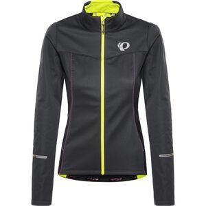 PEARL iZUMi Select Escape Softshell Jacket Women Black/Screaming Yellow bei fahrrad.de Online