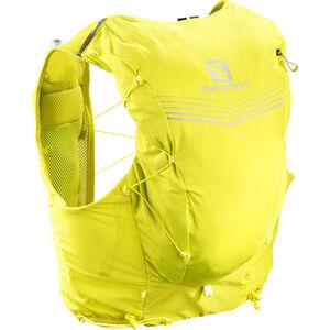 Salomon Adv Skin 12 Backpack Set sulphur spring/citronelle bei fahrrad.de Online