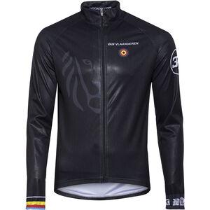 Bioracer Van Vlaanderen Pro Race Wind Jacket Herren black black