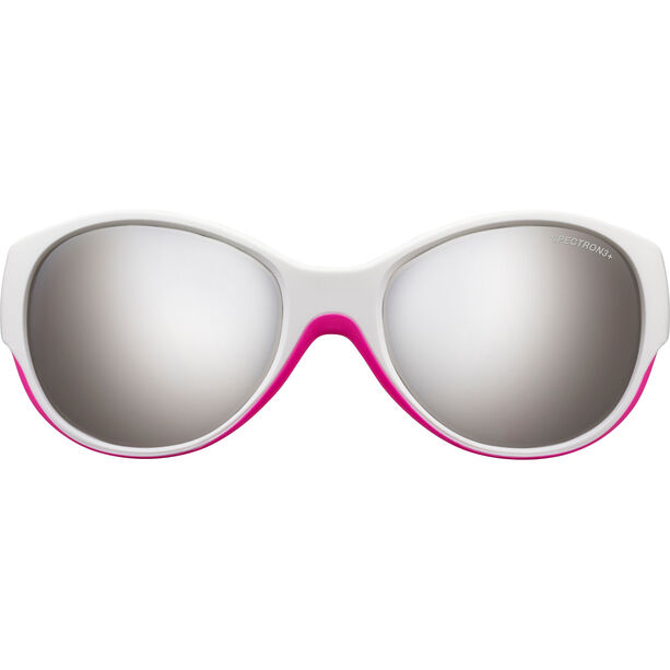 Julbo Lily Spectron 3+ Sunglasses 4-6Y Kinder white/fluorescent pink-gray flash silver