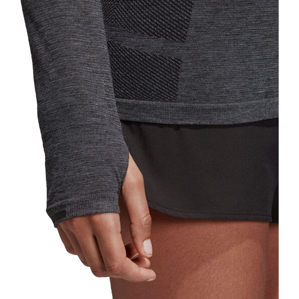 adidas Ultra Climaheat Primeknit LS Hoodie Damen